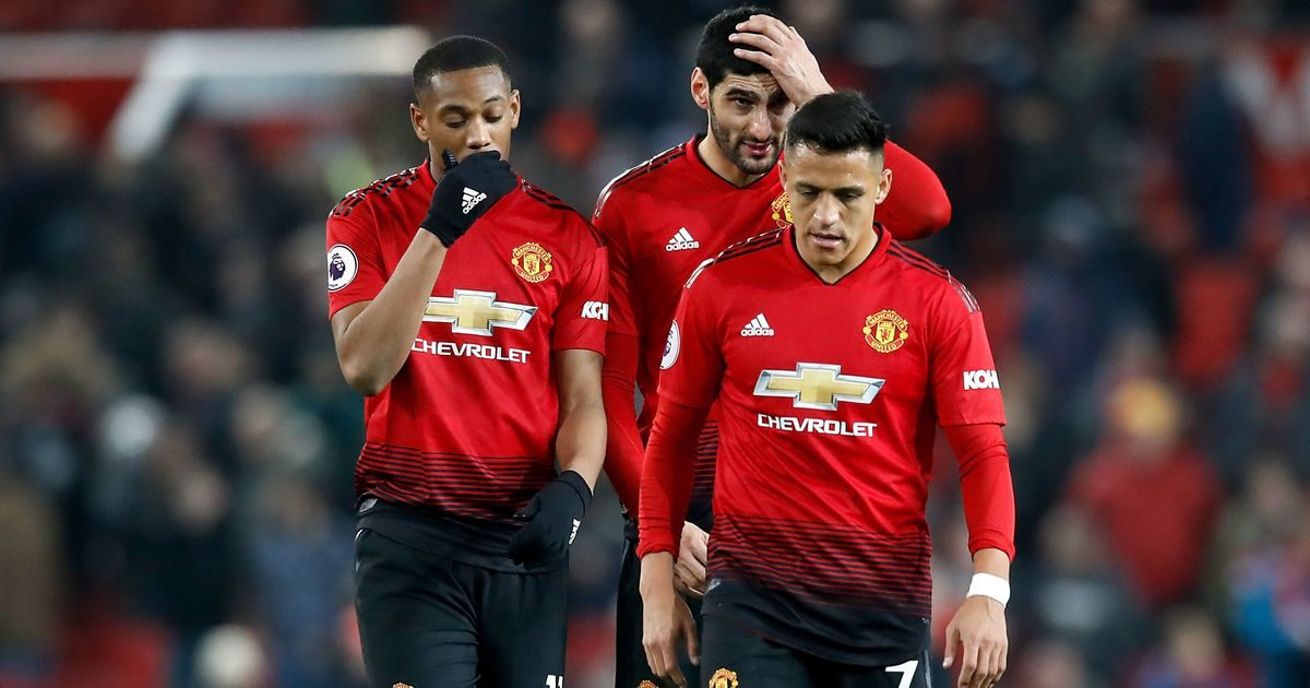 Manchester United Dilanda Kegagalan Yang Tidak Ada Habisnya