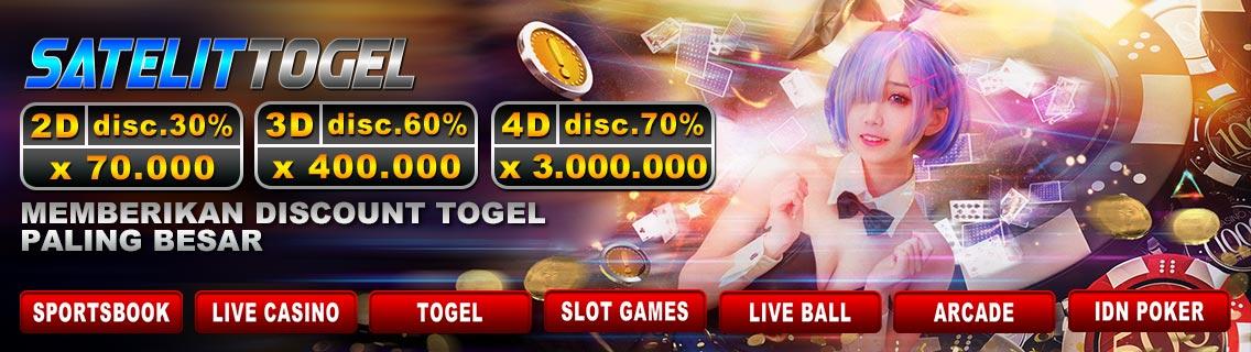 SatelitTogel Bandar Togel Online Yang Bisa Deposit Pulsa